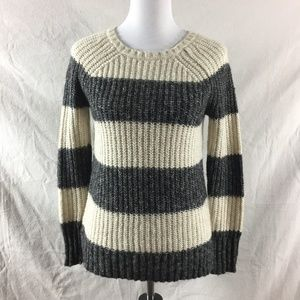 American Eagle Chunky Knit Bold Striped Sweater